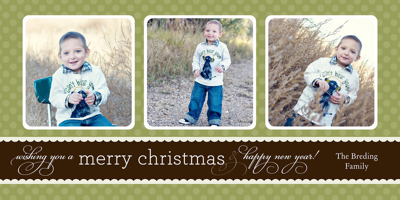 4x8 Christmas card templates :: Portrait Photographer} - .Amara lea ...
